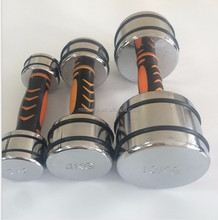 Wholesale dumbell,Chromed dumbbell,portable dumbbell sets
