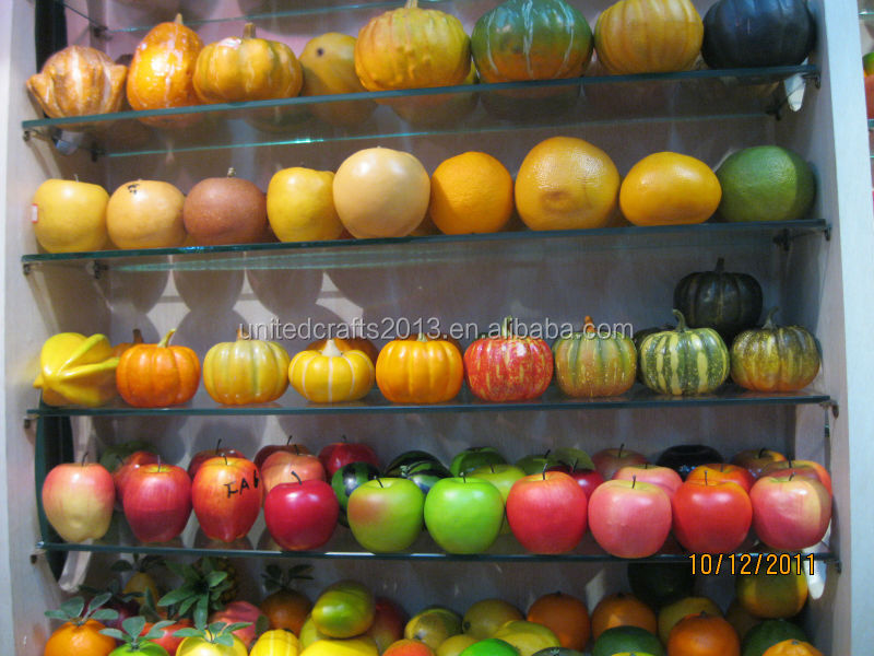 christmas tree decoration items/crafts wholesale artificial fruit pumpkin/wholesale foam pumpkin