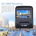 D012 2.45'' 1080P WIFI Dual Lens Car DVR Video Recorder Dash Board Camera 30FPS