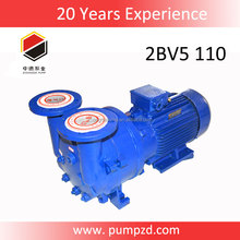 2BVA series recirculation water liquid ring 5.5 kw vacuum pump