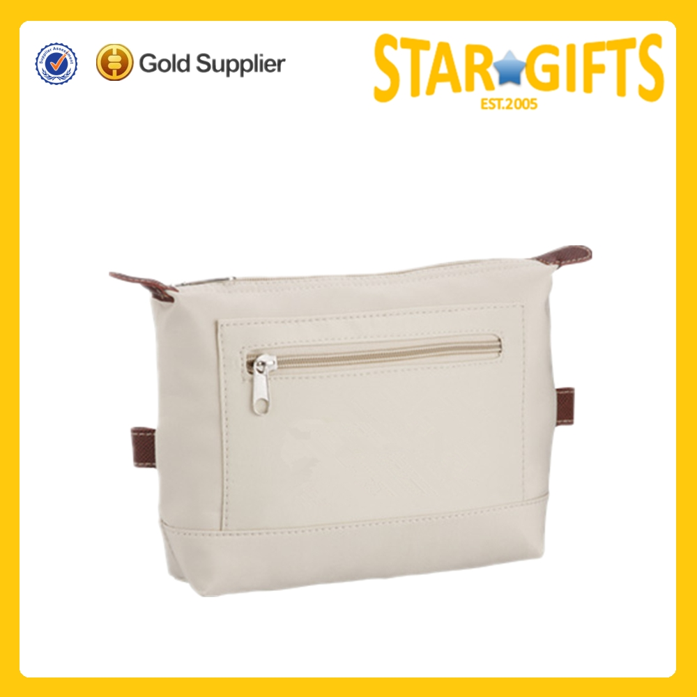 2015 Alibaba China practical fashion microfiber cosmetic make-up bag