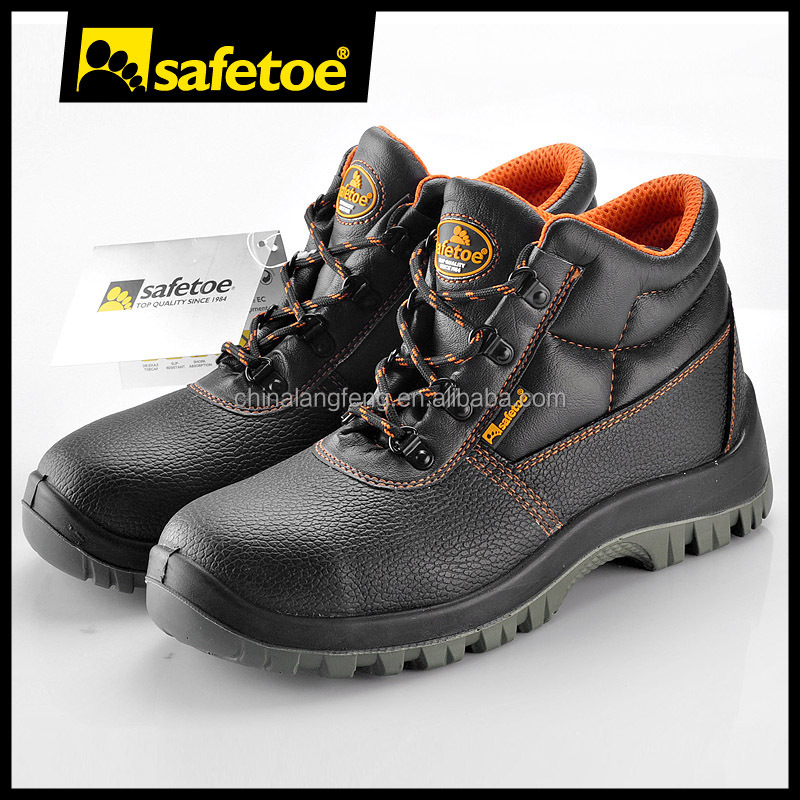 Industrial safety shoes galoshes, indian army shoes, fiberglass toe cap for safety shoes M-8010