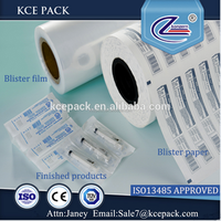 Medical Coated paper and blister film for syringe packing