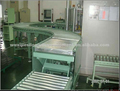 90 degree automated curved roller conveyor machinery