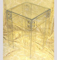 Transparent Acrylic Home Furniture coffee tables Acrylic End Table Pure Acrylic Occasional Furniture