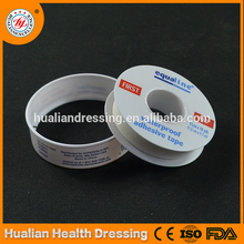 Plastic-coated cotton fabric medipore tape for medical use