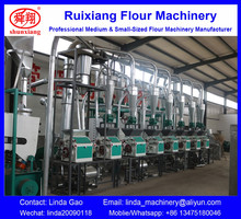 30TPD Buckwheat Wheat Flour Mill Processing Line plant factory From China