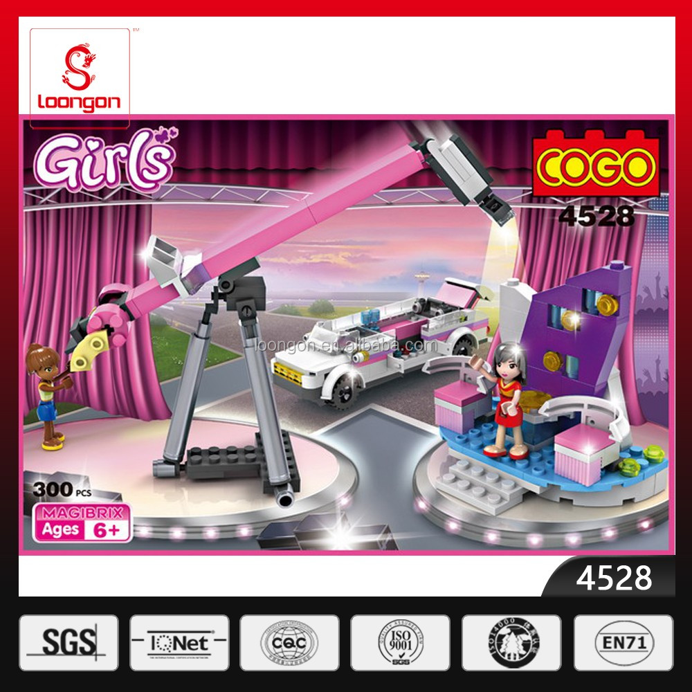 COGO plastic mini building blocks