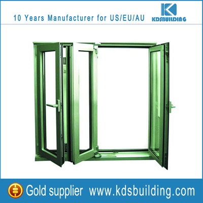 China Manufacture Fixed Glass Windows With Grill Design