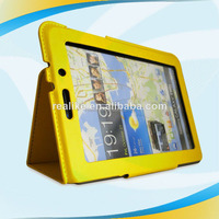 stylish and convenient case, desktop pu leather cover for samsung galaxy tab 7.7