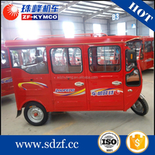 China famous three wheel tricycle gas scooters