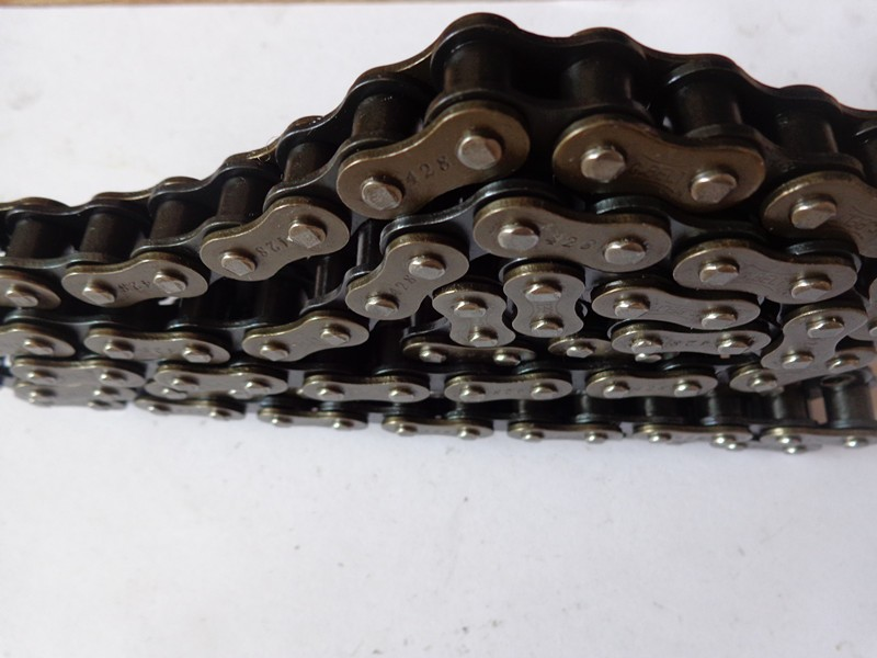 Transmission chain sprocket best price, motorcycle key roller chain and spare sprocket 420 428 520
