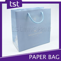 Promotional Custom Logo Printing Foldable Paper Shopping Bag