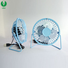 Customized Logo Summer Gift USB Powered Table Ultra Quiet Fan