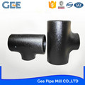 GEE ASTM cs reducing tee carbon steel forged tee