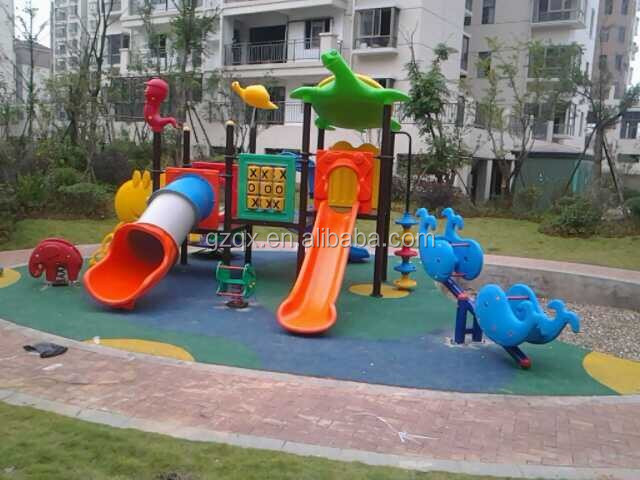 Best seller !!! Guangzhou Qixin top brand child slide ladder plastic slide