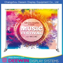 Anti-deformation Cheap Tension Display Backdrop Banner for European Market