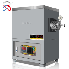 1600c horizontal electric vacuum tube furnace