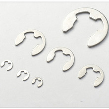 Stainless steel washer E clip