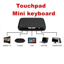 2017Mini H18 Wireless Keyboard 2.4 G Portable Keyboard With Touchpad Mouse for Windows Android/Google/Smart TV Linux Windows Mac