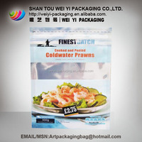 Frozen Plastic Packaging Bags For Fish