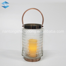 large moroccan hanging glass table lanterns with metal base