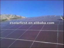 90W amorphous mini thin film solar panel use on ground