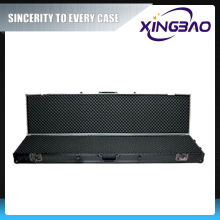 Range gun box,hard plastic gun cases with EVA and Foam inner,lockable gun box
