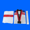 ITF taekwondo uniform with custom logo