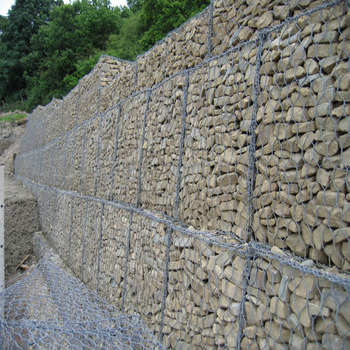 Hot dip galvanized stone retaining wall gabion baskets prices for sale