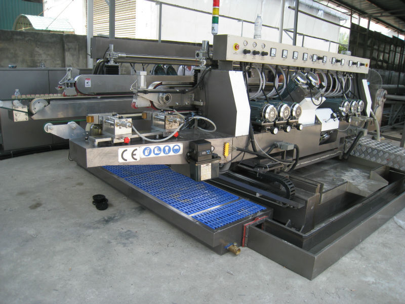 Glass Double Edger Grinding Machine