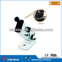 China optical external reading manual Lensmeter with prism compensator,hand lensmeter