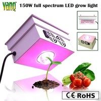 Perfect indoor medical plant growth, mini size & super PPF, integrated COB LED 150w grow lamp with full spectrum