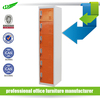 2016 new design knock down 6 tier swimming pool metal locker