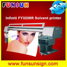 Best selling infiniti FY3208R wide format 4 head printer with 4 or 8 35pl heads