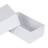 white square gift cardboard packaging for electronics