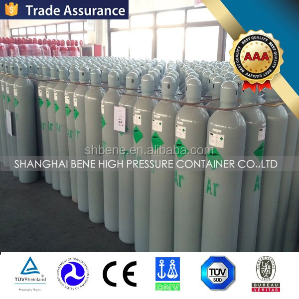 HOT sale! ISO9809 Standard High Pressure Seamless used steel oxygen gas cylinders for car
