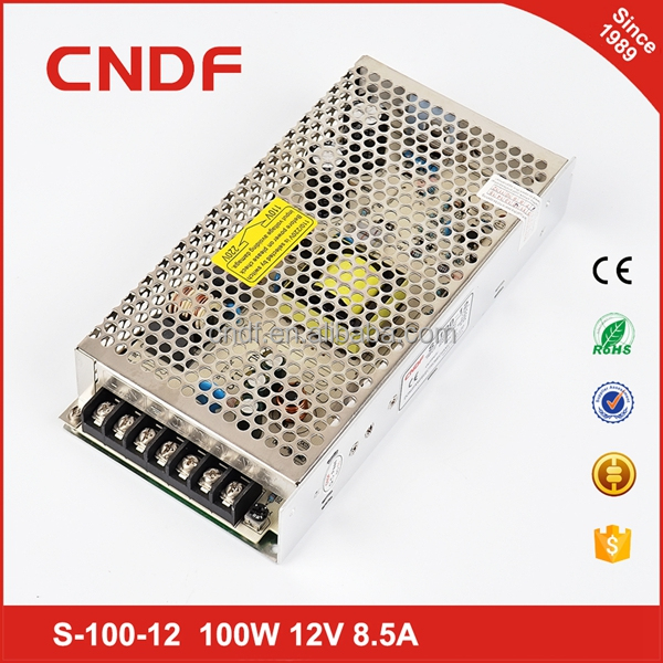 CNDF regulated ac dc led light switcing power supply 100W 24V 4.5A