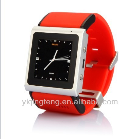 LCD Screen MP4 Music GPRS Wrist Watch Mobile Cell Phone