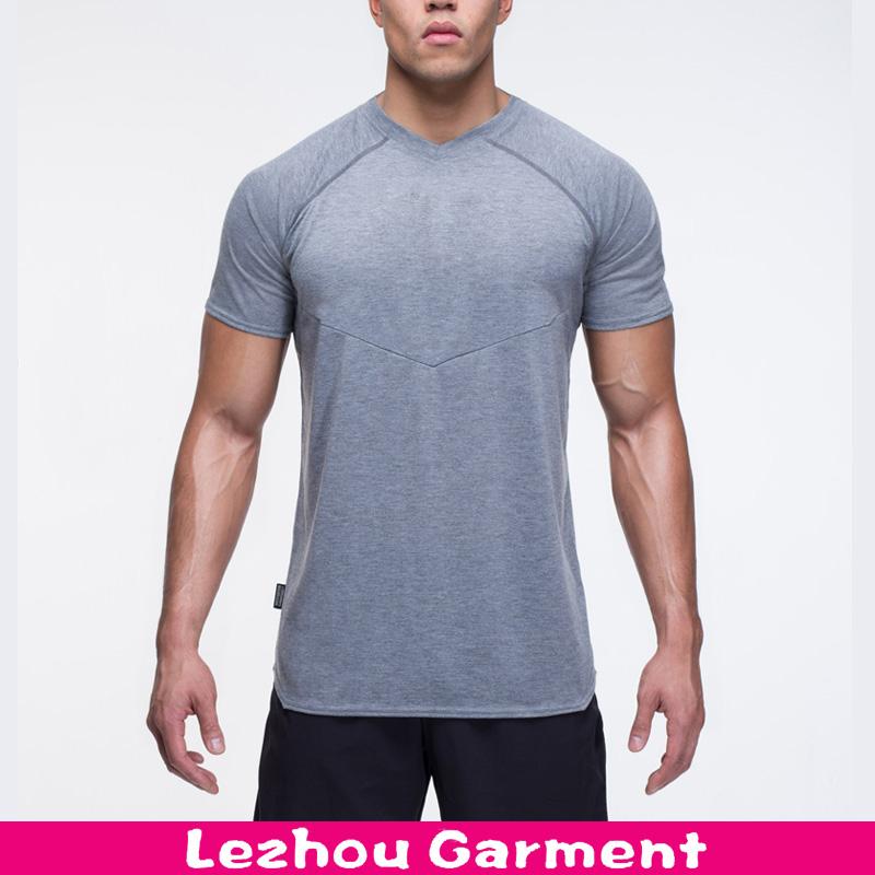 Seamless Slim Fit T Shirt Mens Athletic T Shirt Buy