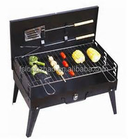 With BBQ tools Foldable barbecue grill foldable suitcase Pliable Barbecue