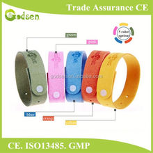custom supply anti mosquito band top selling natural mosquito repellent bracelet