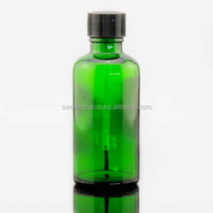 low price 100ml essential oil brush bottle with different color China factory