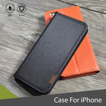 Great Quality Genuine Leather Wallet Smartphone Case for iPhone