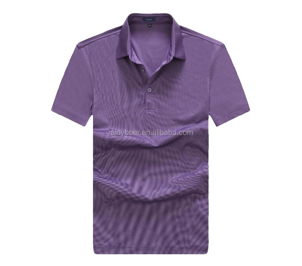 Men 39 s fashion design color combination polo t shirt buy for Polo shirt color combination