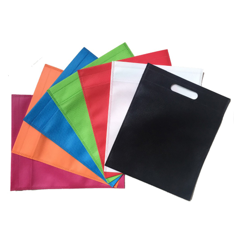 Trending Hot Products Cheap Portable custom eco-friendly <strong>D</strong> cut non woven bags