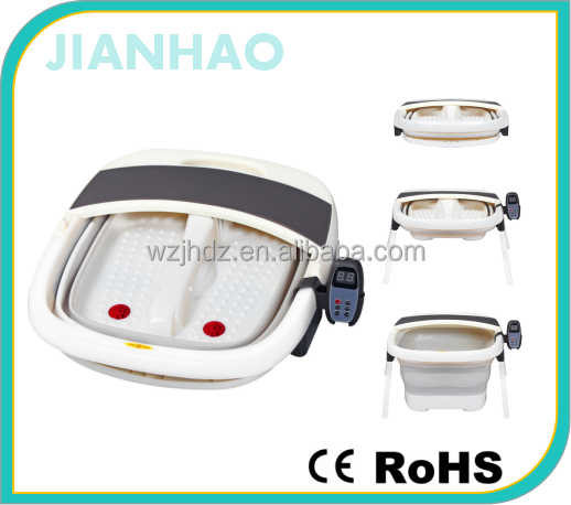 New Foldable Foot Bath Electric Foot Massager Infrared Foot Spa/bath bubble massager/foot spa bucket