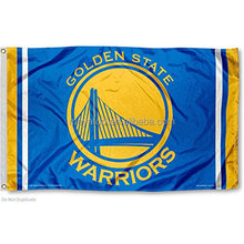 High quality NBA Golden State Warriors 3'X5' flag with cheap factory direct price