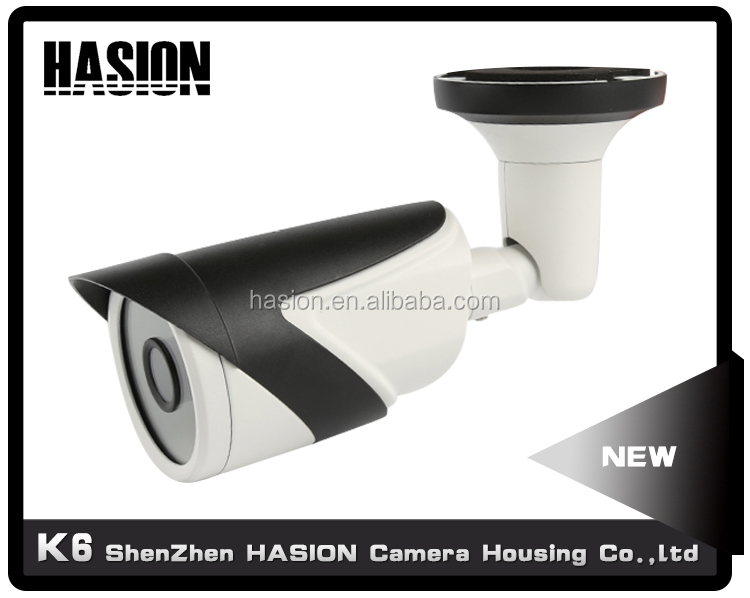 Outdoor hot selling metal ip66 bulle security camera housing cctv kamera body