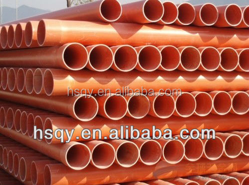 pvc pipe plastic tube best cable protection cover